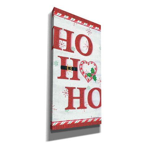 'Ho Ho Ho' by Lisa Kennedy, Canvas Wall Art