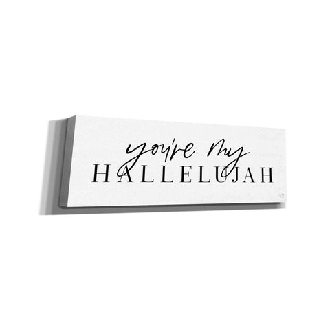 'You're My Hallelujah' by Lux + Me Designs, Canvas, Wall Art