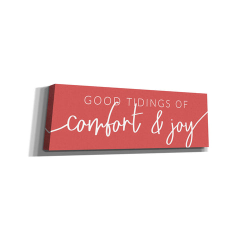 'Good Tidings of Comfort & Joy' by Lux + Me Designs, Canvas, Wall Art