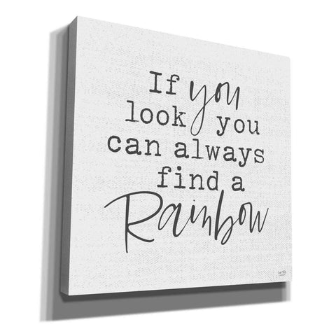 'A Rainbow' by Lux + Me Designs, Canvas, Wall Art