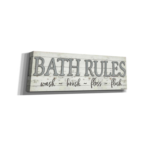 Image of 'Bath Rules' by Susie Boyer, Canvas, Wall Art