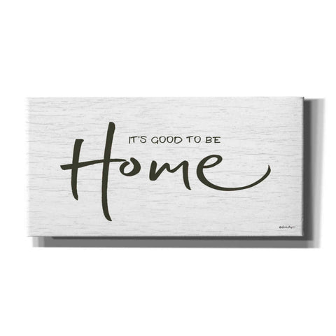 'It's Good to Be Home' by Susie Boyer, Canvas, Wall Art