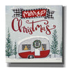 'Merry Christmas Camper' by Sara Baker, Canvas, Wall Art