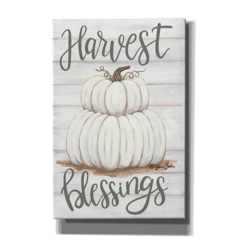 'Harvest Blessings' by Sara Baker, Canvas, Wall Art