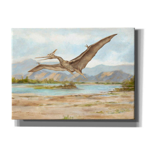Image of 'Dinosaur Illustration VI' by Ethan Harper, Canvas Wall Art