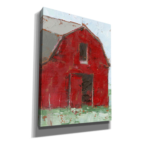 Image of 'Big Red Barn I' by Ethan Harper, Canvas Wall Art