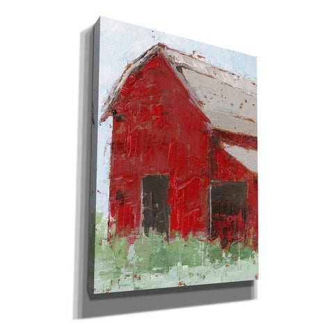 Image of 'Big Red Barn II' by Ethan Harper, Canvas Wall Art