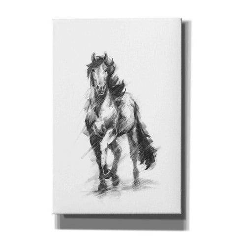 Image of 'Dynamic Equestrian I' by Ethan Harper, Canvas Wall Art