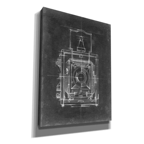 Image of 'Camera Blueprints I' by Ethan Harper, Canvas Wall Art