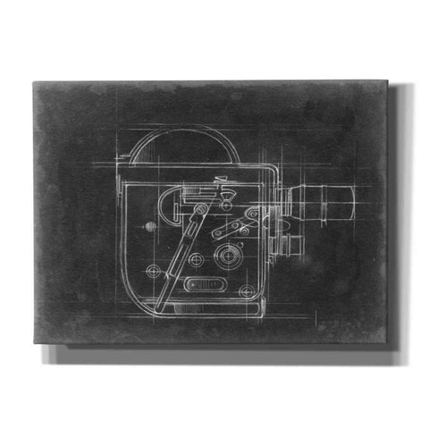 'Camera Blueprints III' by Ethan Harper, Canvas Wall Art