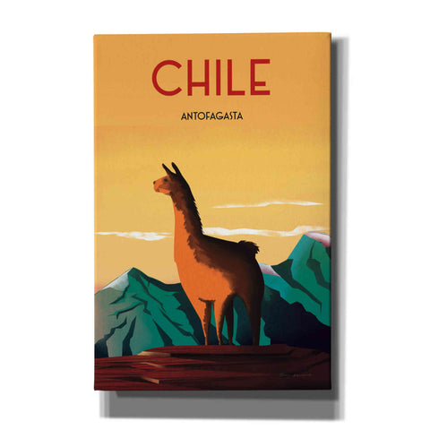 Image of 'Chile' by Omar Escalante, Canvas Wall Art