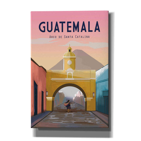 Image of 'Guatemala' by Omar Escalante, Canvas Wall Art
