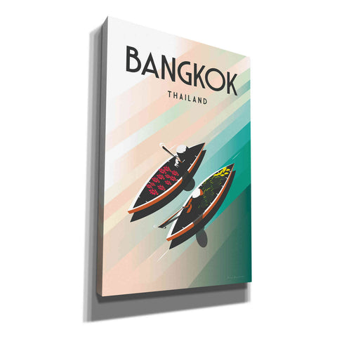 'Bangkok Thailand' by Omar Escalante, Canvas Wall Art