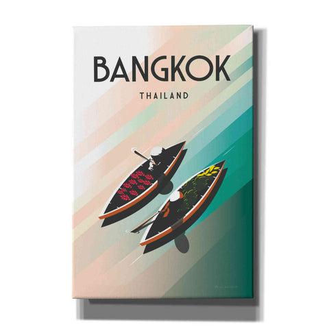 Image of 'Bangkok Thailand' by Omar Escalante, Canvas Wall Art