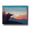 'Follow Your Dreams' by Omar Escalante, Canvas Wall Art