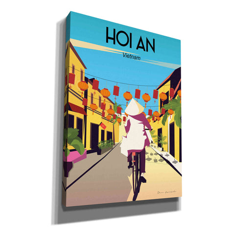 Image of 'Hoi An Vietnam' by Omar Escalante, Canvas Wall Art