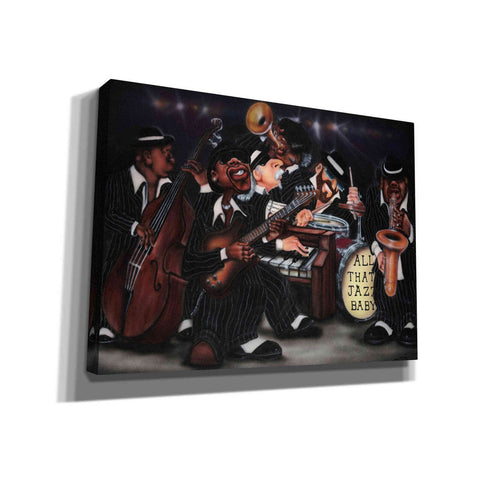 'All That Jazz' by Leonard Jones, Canvas Wall Art