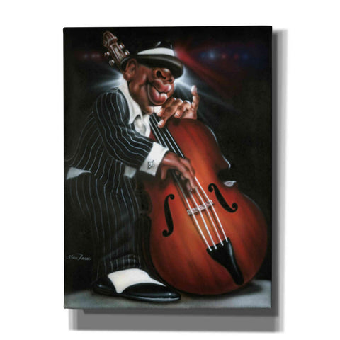 'Jazzman D' by Leonard Jones, Canvas Wall Art