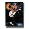 'Jazzman Papa Joe' by Leonard Jones, Canvas Wall Art