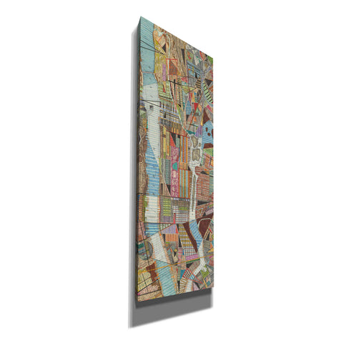 'Modern Map of New York III' by Nikki Galapon, Canvas Wall Art