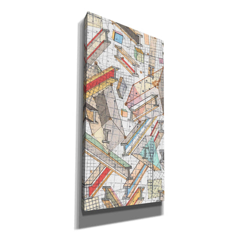 'Funky Grid I' by Nikki Galapon, Canvas Wall Art
