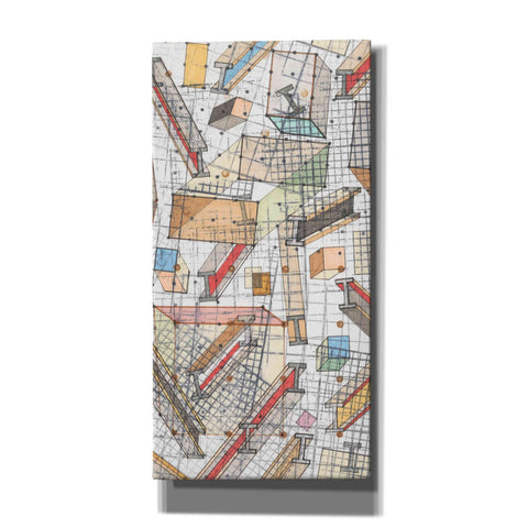 'Funky Grid II' by Nikki Galapon, Canvas Wall Art