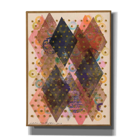 'Inked Triangles I' by Nikki Galapon, Canvas Wall Art