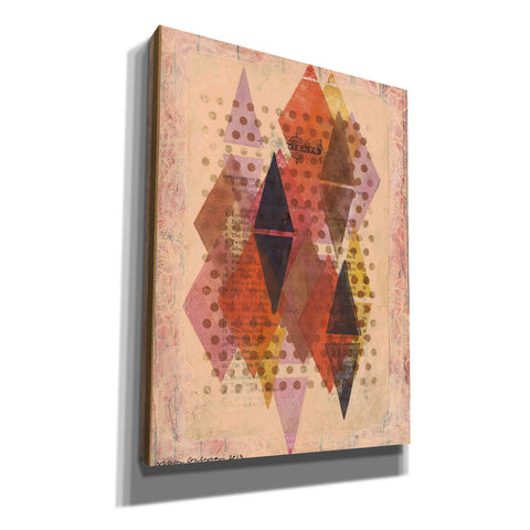 'Inked Triangles II' by Nikki Galapon, Canvas Wall Art