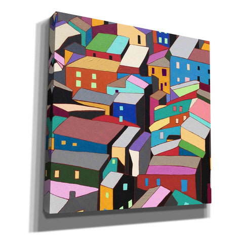 'Rooftops I' by Nikki Galapon, Canvas Wall Art