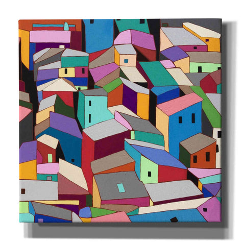 'Rooftops II' by Nikki Galapon, Canvas Wall Art