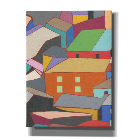 'Rooftops in Color III' by Nikki Galapon, Canvas Wall Art