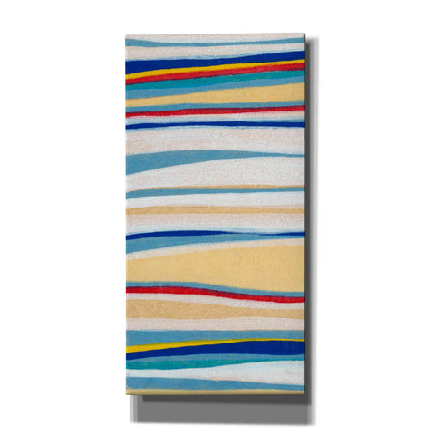 'Wavy Lines I' by Nikki Galapon, Canvas Wall Art