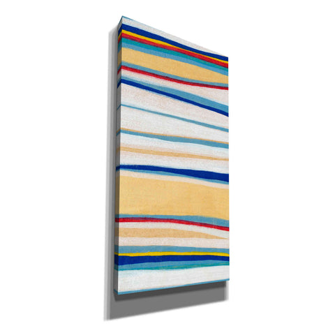'Wavy Lines II' by Nikki Galapon, Canvas Wall Art