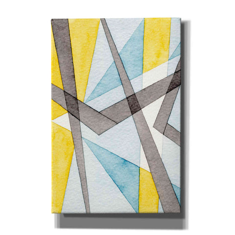 'Converging Angles I' by Nikki Galapon, Canvas Wall Art