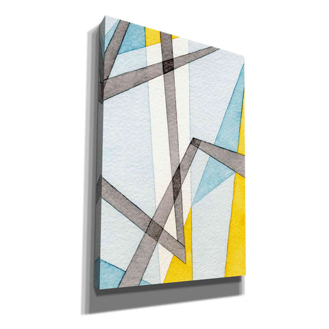 'Converging Angles II' by Nikki Galapon, Canvas Wall Art