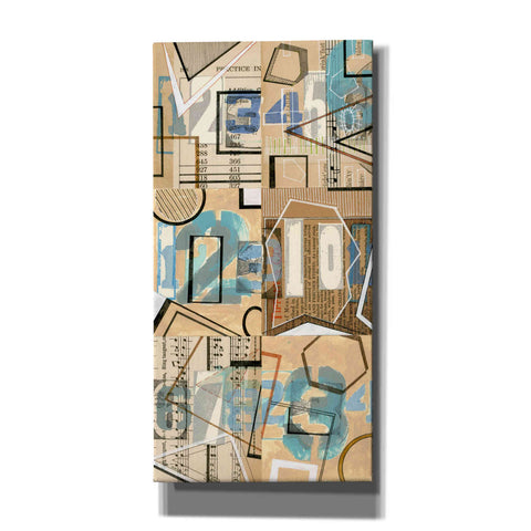 'Numbers I' by Nikki Galapon, Canvas Wall Art