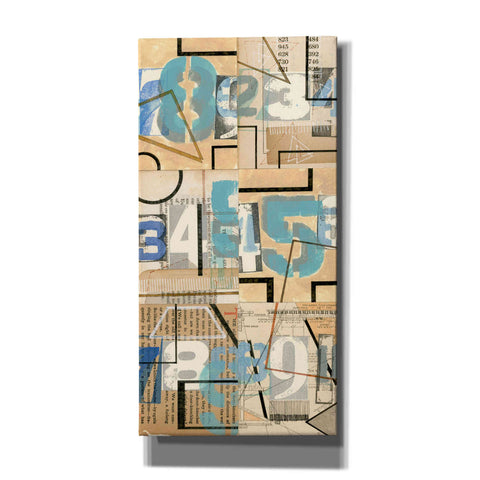 'Numbers II' by Nikki Galapon, Canvas Wall Art