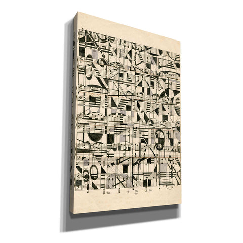 'Graphic Notes' by Nikki Galapon, Canvas Wall Art