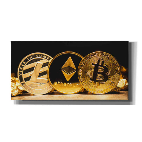 Image of 'The OG Crypto II', Canvas Wall Art