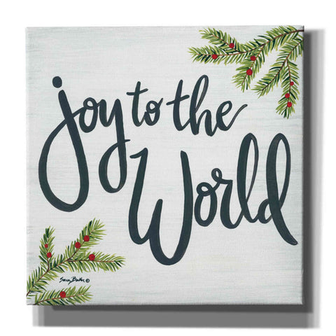 'Joy to the World' by Sara Baker, Acrylic Glass Wall Art