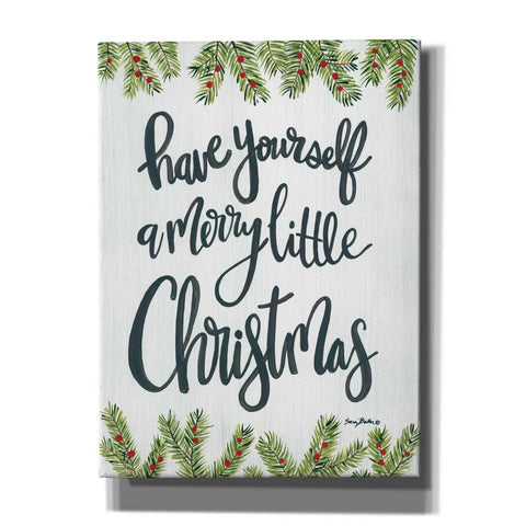 Image of 'Have Yourself a Merry Little Christmas' by Sara Baker, Acrylic Glass Wall Art