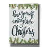 'Have Yourself a Merry Little Christmas' by Sara Baker, Acrylic Glass Wall Art