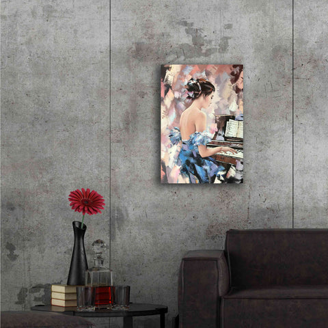 'Moonlight Sonata' by Alexander Gunin, Canvas Wall Art,18 x 26