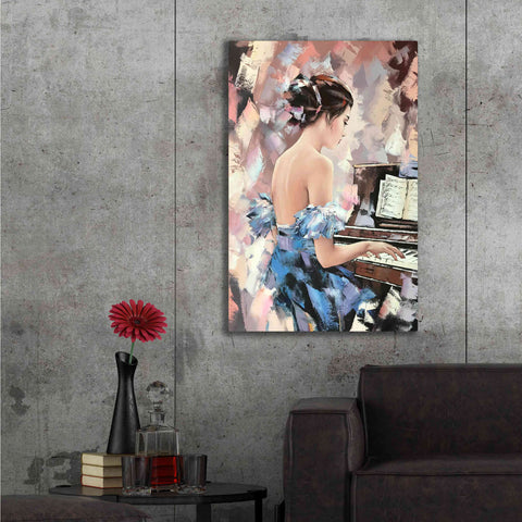 Image of 'Moonlight Sonata' by Alexander Gunin, Canvas Wall Art,40 x 54