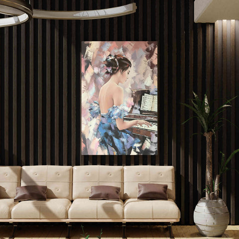 'Moonlight Sonata' by Alexander Gunin, Canvas Wall Art,40 x 54