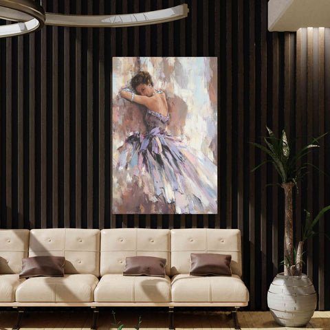'Soiree' by Alexander Gunin, Canvas Wall Art,40 x 54