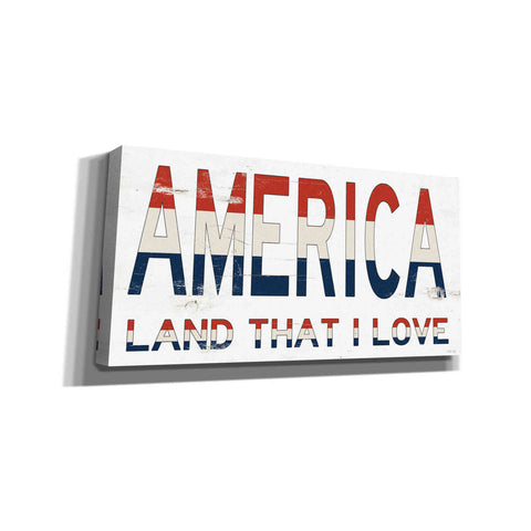 'America - Land That I Love' by Cindy Jacobs, Canvas Wall Art