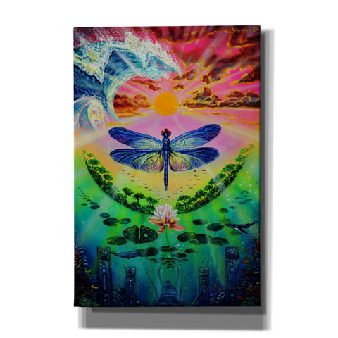 Image of 'Dragonfly' by Jan Kasparec, Canvas Wall Art