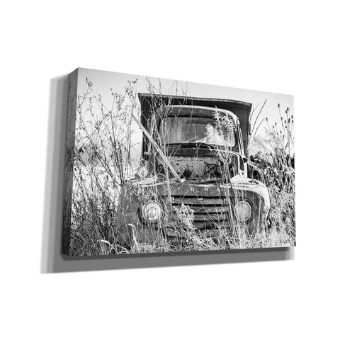 Image of 'Truck in Wildflower Field' by Donnie Quillen, Canvas Wall Art