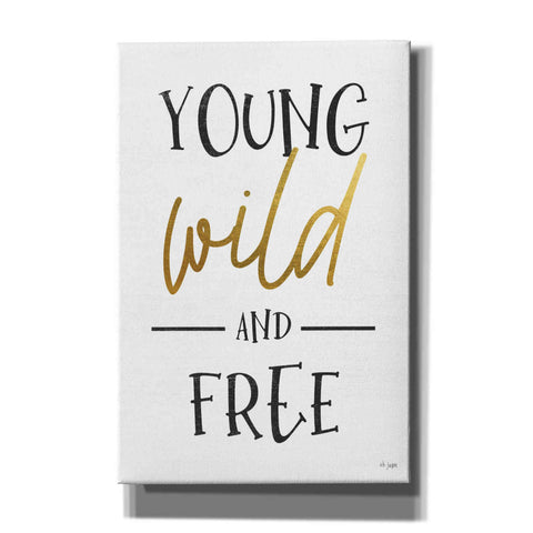 'Young, Wild and Free' by Jaxn Blvd, Canvas Wall Art